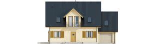 Projekt domu Marisa IV G1 ENERGO - elewacja frontowa