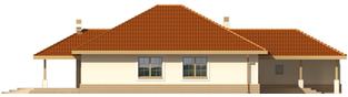 Projekt domu Lidka G1 - elewacja lewa