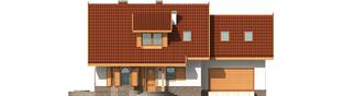 Projekt domu Iskierka G2 - elewacja frontowa