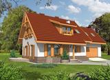 Projekt rodinného domu: Jiskra I (G2)