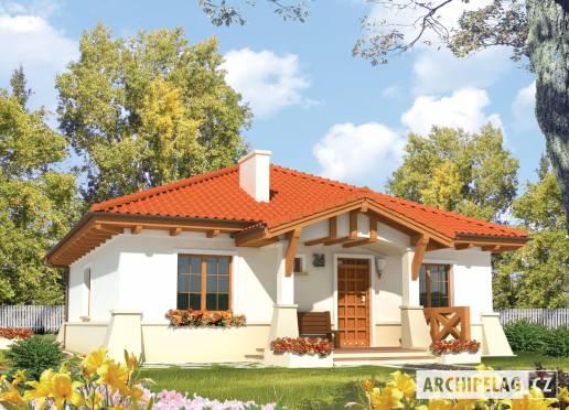 Projekt rodinného domu - Edita (e. I)
