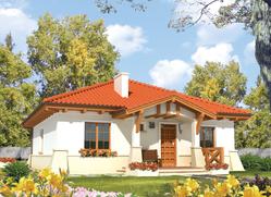 Projekt rodinného domu: Edita (e. I)