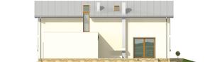 Projekt domu Kira G1 - elewacja prawa