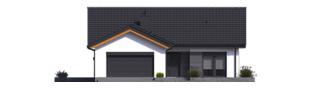 Projekt domu Simon III G2 - elewacja frontowa