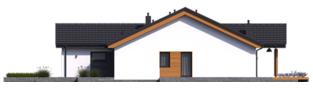 Projekt domu Simon III G2 - elewacja prawa