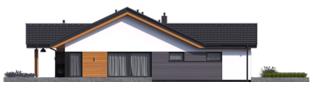 Projekt domu Simon III G2 - elewacja lewa