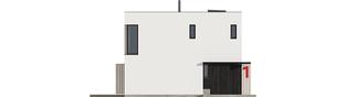Projekt domu EX 2 ENERGO PLUS  - elewacja frontowa