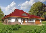 Projekt rodinného domu: Jacek (v. II)