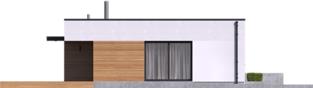 Projekt domu Mini 1 G1 MODERN PLUS - elewacja lewa