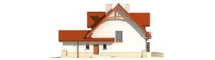 Projekt domu Wiolka G1 - elewacja prawa