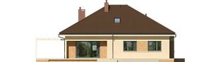 Projekt domu Flo III - elewacja tylna