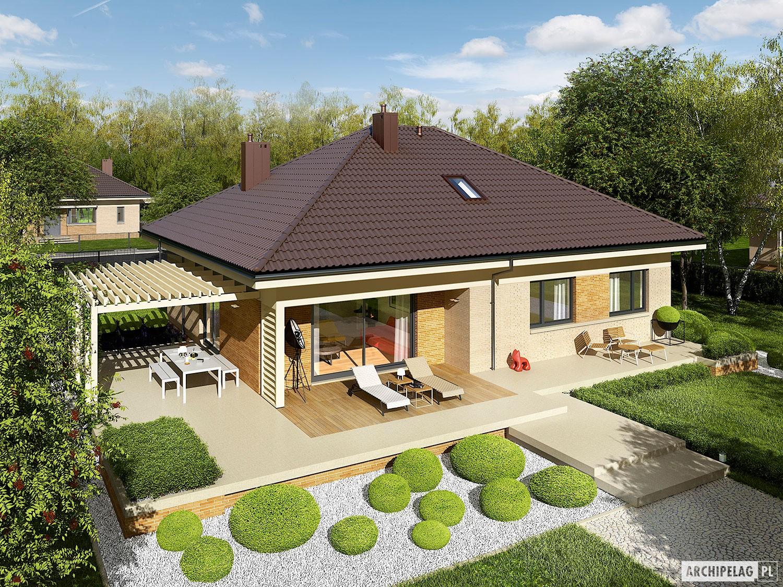 Flo iii projekt domu archipelag for Disenos de casas campestres modernas