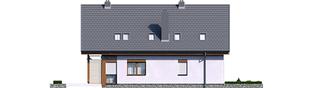 Projekt domu Elias G1 - elewacja prawa