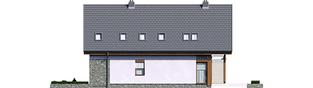 Projekt domu Elias G1 - elewacja lewa