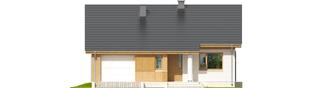 Projekt domu Rafael G1 - elewacja frontowa