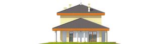 Projekt domu Eleonora G2 - elewacja lewa