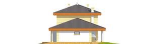 Projekt domu Eleonora G2 - elewacja prawa