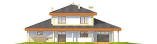 Projekt domu Eleonora G2 - elewacja tylna