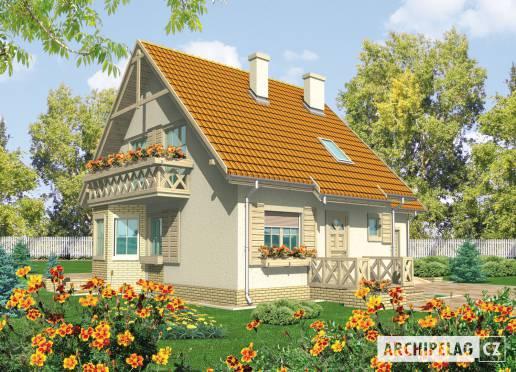 Projekt rodinného domu - Sněžka II (G2)