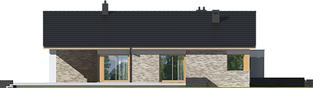 Projekt domu Daniel G2  - elewacja lewa