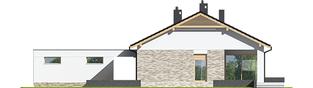 Projekt domu Daniel G2  - elewacja tylna