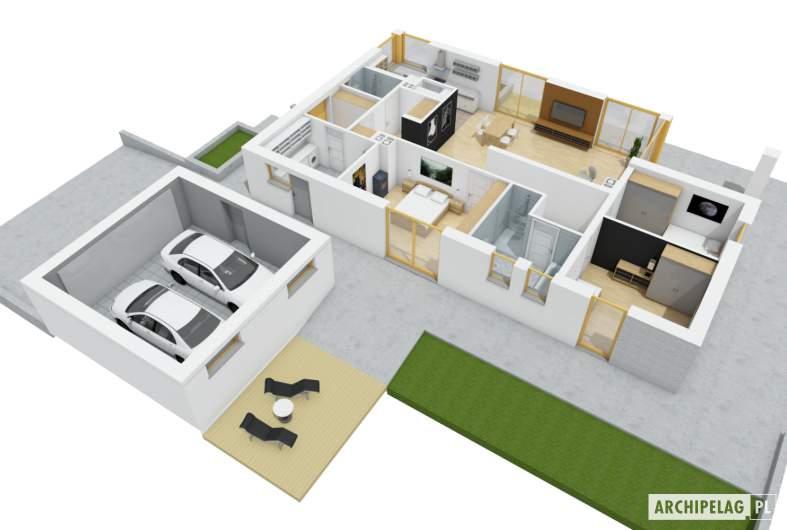 Projekt domu Daniel G2  -