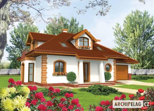 Projekt rodinného domu - Iva (G1)