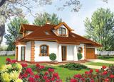 Projekt rodinného domu: Iva (G1)