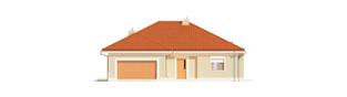 Projekt domu Eris G2 (wersja B) - elewacja frontowa