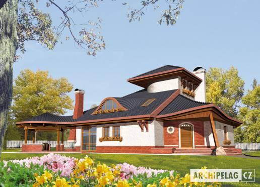 Projekt rodinného domu - Kazimír