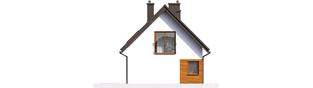 Projekt domu Liv 7 - elewacja lewa