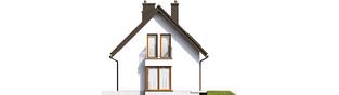 Projekt domu Liv 7 - elewacja prawa