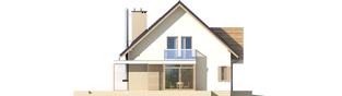Projekt domu Edi G1 - elewacja lewa
