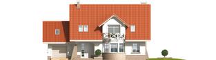 Projekt domu Jagienka G1 - elewacja frontowa