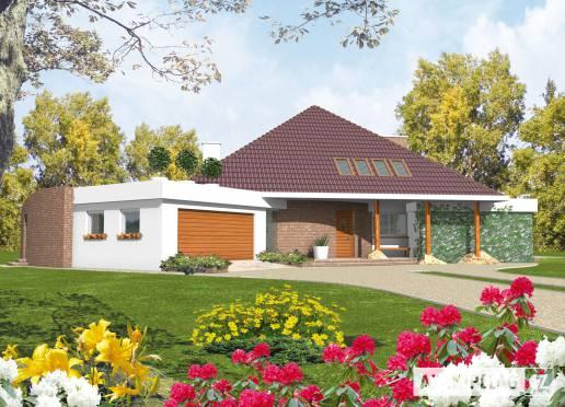 Projekt rodinného domu - Kašpar