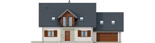 Projekt domu Amaranta G2 Leca® DOM - elewacja frontowa