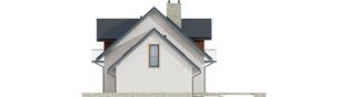 Projekt domu Amaranta G2 Leca® DOM - elewacja prawa