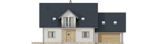 Projekt domu Amaranta II G2 ENERGO - elewacja frontowa