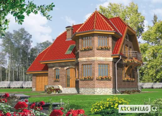 Projekt rodinného domu - Ruslana