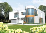 Projekt rodinného domu: Karola