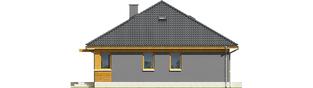 Projekt domu Anabela ENERGO PLUS - elewacja prawa