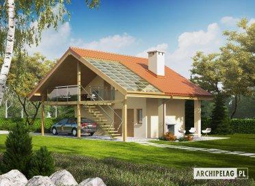Projekt: Budynek gospodarczy G35 (z wiatą)
