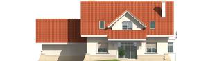 Projekt domu Nadina G2 - elewacja tylna