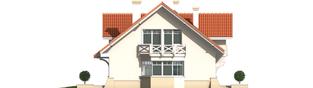 Projekt domu Nadina G2 - elewacja lewa