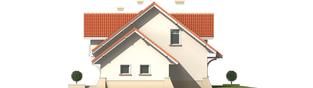 Projekt domu Nadina G2 - elewacja prawa