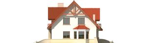 Projekt domu Jolka G1 - elewacja lewa