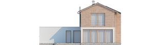 Projekt domu Feliks G2 - elewacja tylna