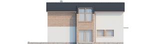 Projekt domu Feliks G2 - elewacja lewa