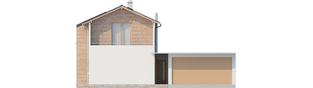 Projekt domu Feliks G2 - elewacja frontowa