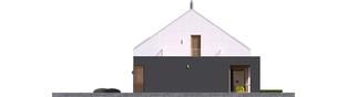 Projekt domu EX 18 G2 ENERGO PLUS - elewacja prawa